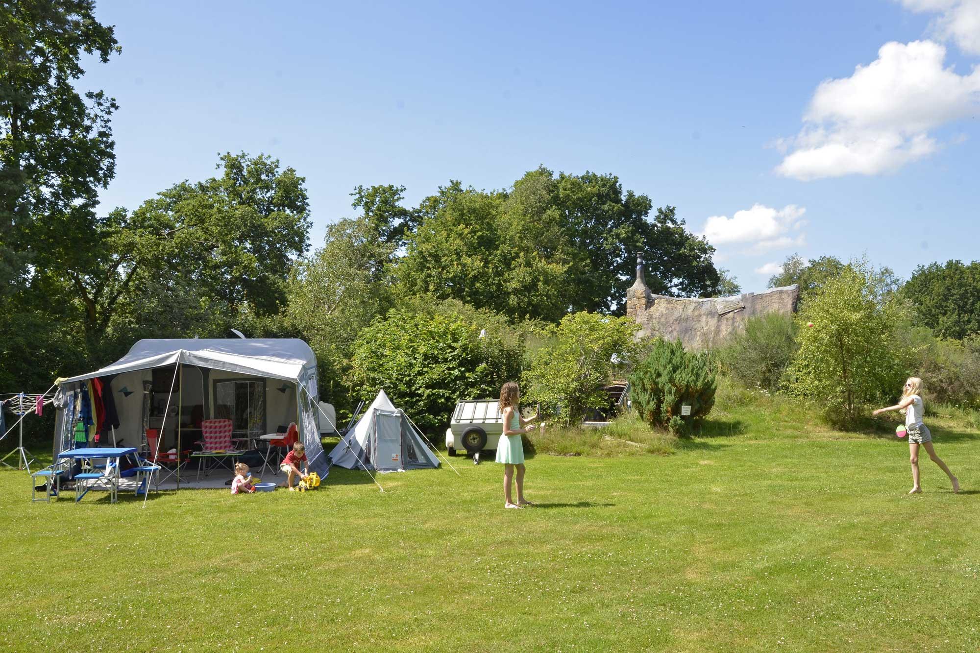 camping-drenthe-blauwe-haan-kamperen